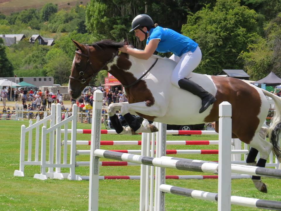 Talia over jump