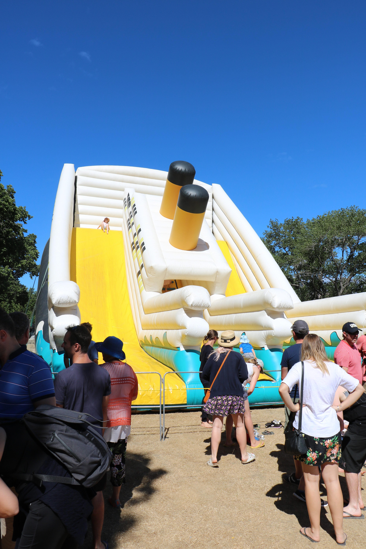 Bouncy ship Lake Hayes Show 2018