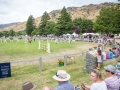 Crowd getting ready for Show Jumping to start