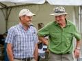 Ex Presidents Tony Strain & Ken Robins sharing a yarn