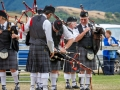 Pipe Band making some repairs