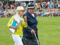 Working Hunter Judge Jane Neave & Steward with Show Secretary Jan Tomes